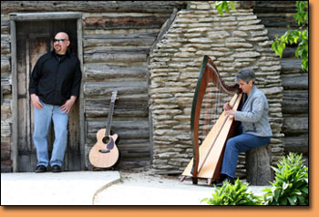 Tapestry - Harpist, Denise Grupp-Verbon and Acoustic Guitarist, Michael Grupp-Verbon - Toledo Ohio
