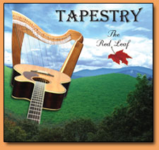 Tapestry Harp and Acoustic Guitar - The Red Leaf
