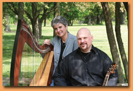 Tapestry - Folk Harpist Denise Grupp-Verbon and Acoustic Guitarist, Michael Grupp-Verbon