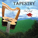 Tapestry Harp and Acoutic Guitar The red Leaf